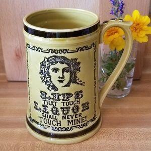 Novelty Temperance Mug
